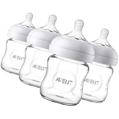 philips avent natural glass baby bottle - best glass baby bottles