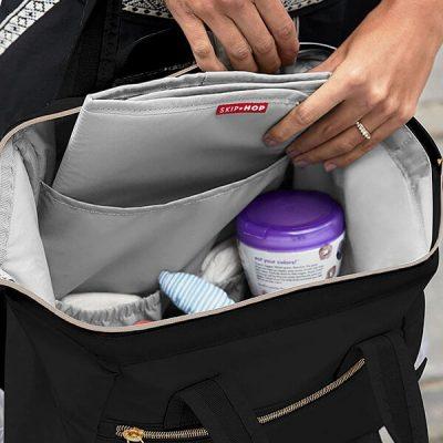 skip hop diaper bag backpack - best diaper bags
