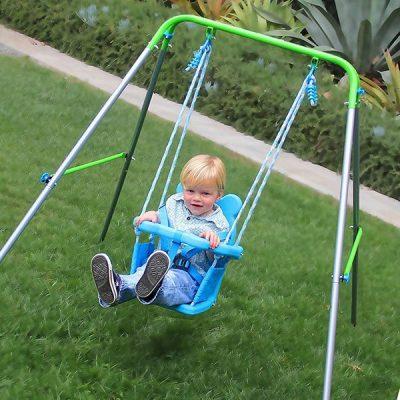 sportspower my first toddler swing - best outdoor baby swing