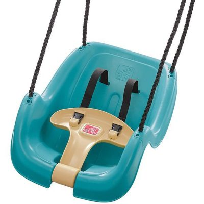 step2 infant to toddler swing seat turquoise - best outdoor baby swing