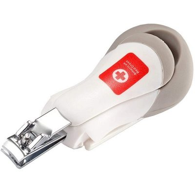 the first years american red cross deluxe nail clipper with magnifier - best baby nail clippers