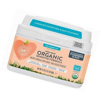 the honest company organic non-gmo sensitive formula for occasional fussiness & gas - best organic baby formula