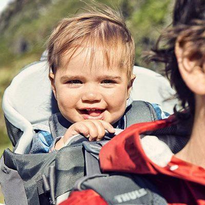 thule sapling elite child carrier backpack - best baby backpack carrier