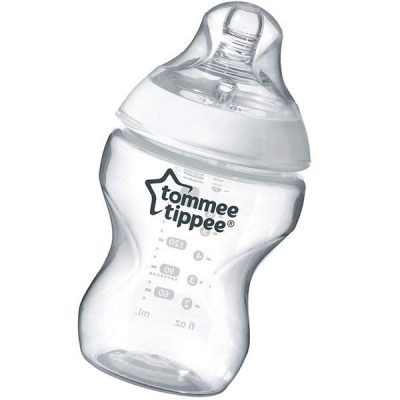tommee tippee closer to nature baby bottle - best bottles for breastfed babies